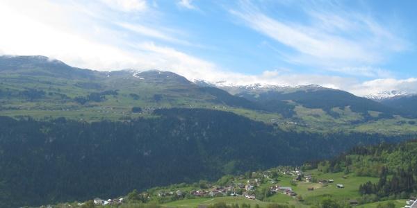 Aussicht von Andiast