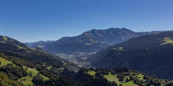 Aussicht ab Alp Dado Sut