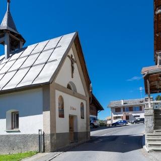 Kapelle beim Postplatz Andiast