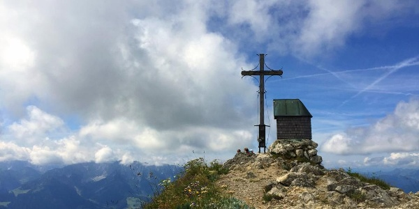 Geigelstein Gipfel 1808 m