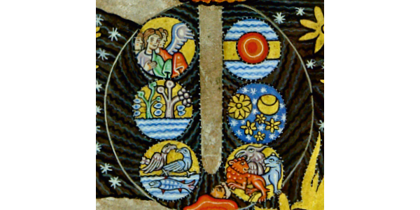 28 Hildegard-Tafel: Die Elemente