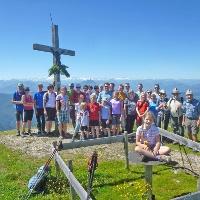 Fellhorngipfel mit Jubiläumsteilnehmern 2016