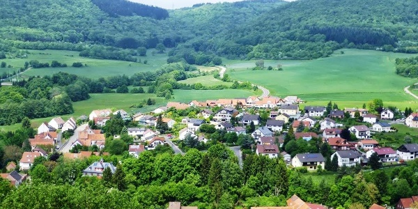 Blick auf Thallichtenberg