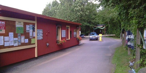 Eingang Campingplatz