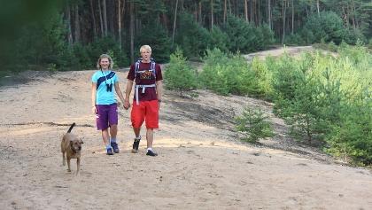 Wanderung auf dem Fränkischen Dünenweg