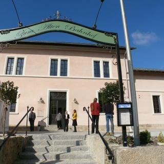 Bahnhof, Museum, Gaststätte, Urzeit