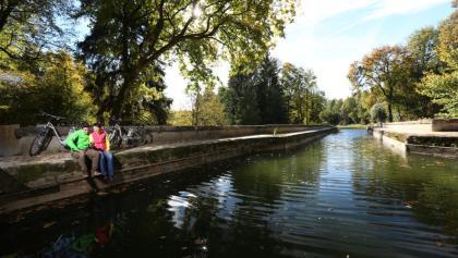 Kanal über die Schwarzach, Alter Kanal, Ludwigskanal, Brückkanal