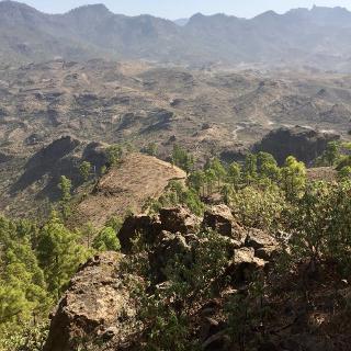 Panaroma der Zentarlregion Gran Canarias