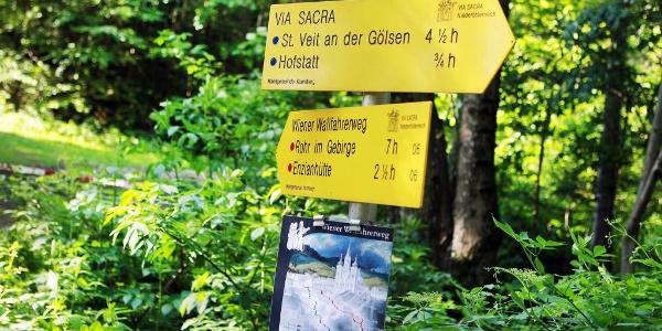 Via Sacra & Wiener Wallfahrerweg