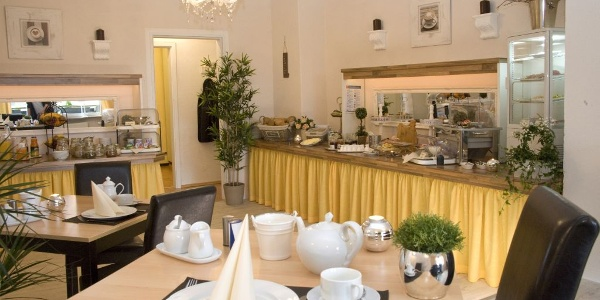 Hotel Zum Grünen Baum: Frühstücksraum