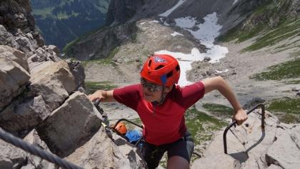 Klettersteig Mindelheimer : Mindelheimer klettersteig über dem kleinwalsertal u