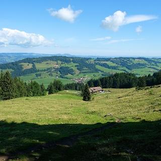 Blick zum Rottachberg