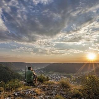Aussicht vom Oberbergfels