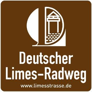 Plakette Limes-Radweg