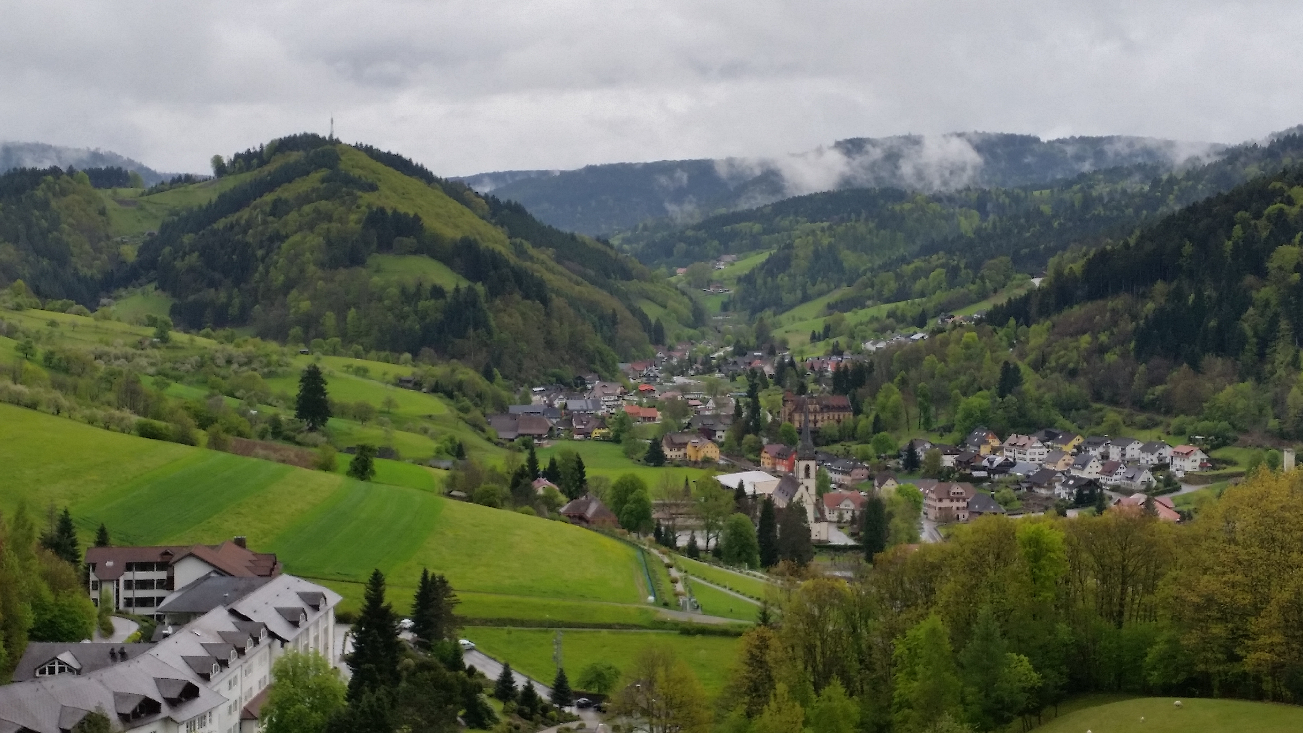 Aussblick oberhalb der Winkelwaldklinik