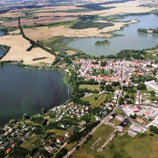 Fürstenwerder mit dem Großen See und dem Dammsee