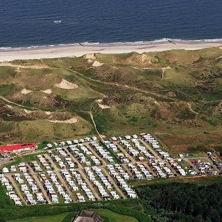Campingplatz Wenningstedt von oben