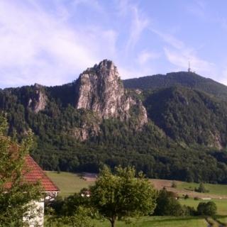 Gaisberg mit Nockstein im Vordergrund