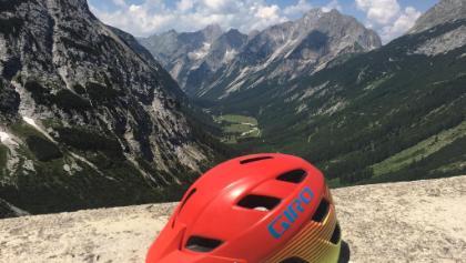 Blick vom Karwendelhaus