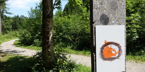 """""""Kinderkobel"""" ist das dritte Kindertor im Eichhörnchenwald"""