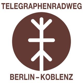 Telegraphenradweg Berlin - Koblenz - Logo