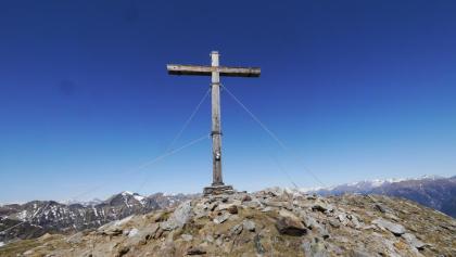 Gipfelkreuz des Gaggio
