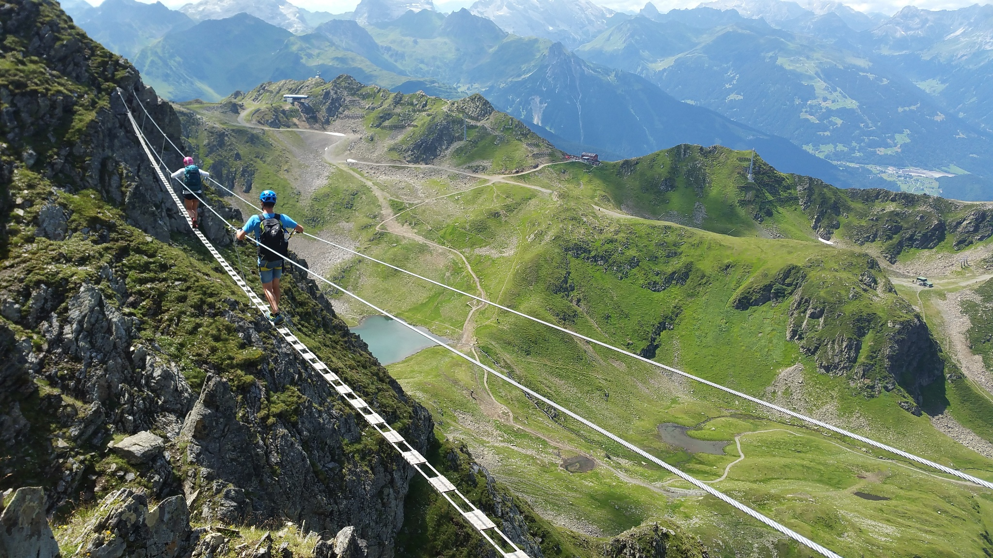 Klettersteig Hochjoch : Klettersteig hochjoch montafon youtube