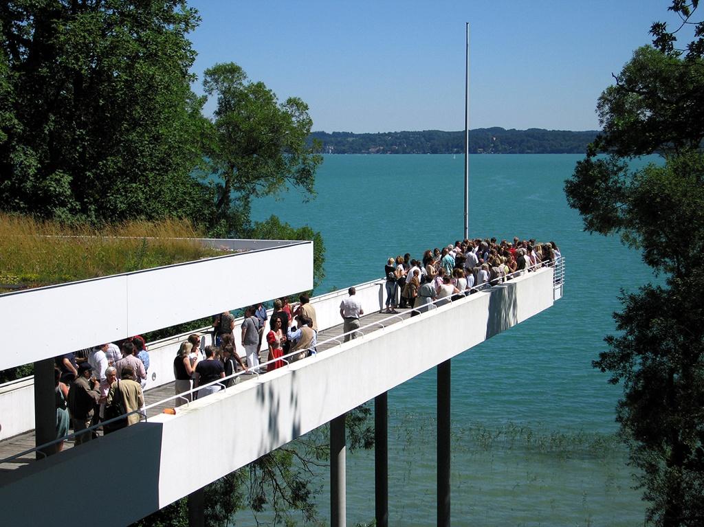 Der Steg des Buchheim Museums am Starnberger See (Buchheim Museum, Bernried)