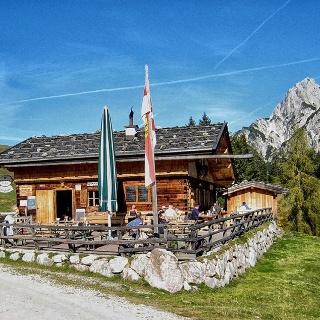 Litzlalm: Treff für Mountainbiker