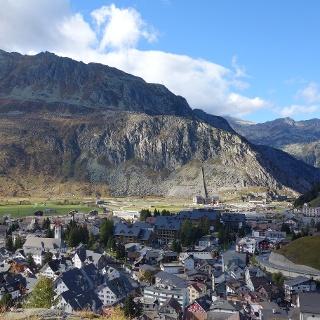 Rundweg Andermatt Gotthard Bike Trail