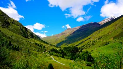 Blick ins Tal nach Vent