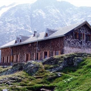 Das Ziel der Tour: Die Badener Hütter