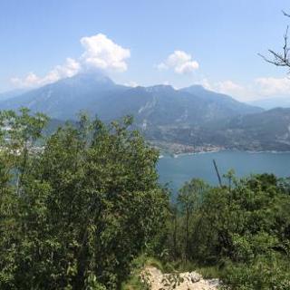 Blick auf Riva del Garda