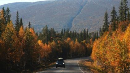 Touring in Pallas Finland