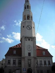 Rathaus in Gryfów Slaski