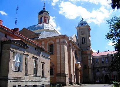 Die Kirche Johannes der Täufer in Owińska