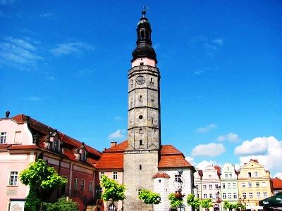 Rathausturm in  Bolesławiec