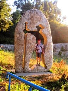 Pilgerdenkmal nicht nur aus Stein