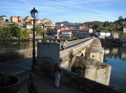 Brücke bei Pontesampaio