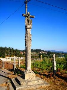 das Pilgerkreuz weist den Weg
