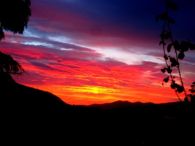 Aufbruch vor Sonnenaufgang