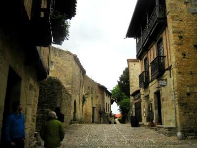 Aufbruch in Santillana