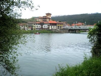 Fluss Deva - Grenze zu Asturien
