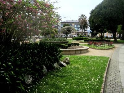 Stadtpark von Ribadeo