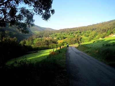 Morgensonne im Tal von Valinadares