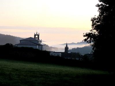 Mondonedo: Aufbruch am frühen Morgen