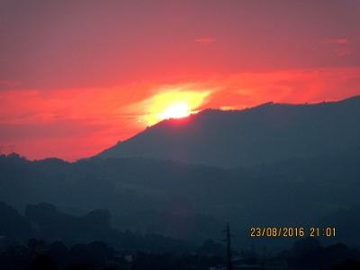 Sonnenuntergang in Llames de Pares
