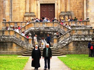 Samos: eines der ältesten Klöster in Spanien