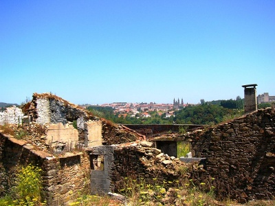 Vue sur Santiago depuis Sarela