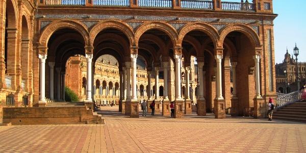 Sevilla : Plaza de España